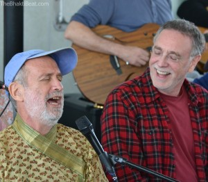 Shyamdas & Krishna Das on the Bhajan Boat, by TheBhaktiBeat.com