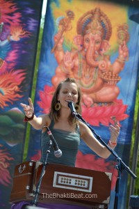 """Kirtan is not about getting blissed out and escaping life..."""