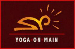 yoga on main logo