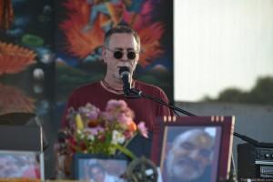 Krishna Das at Bhakti Fest Midwest, by TheBhaktiBeat.com