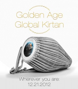Golden Age Global Kirtan poster on TheBhaktiBeat.com