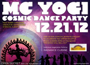 MC Yogi Cosmic Dance Party on TheBhaktiBeat.com