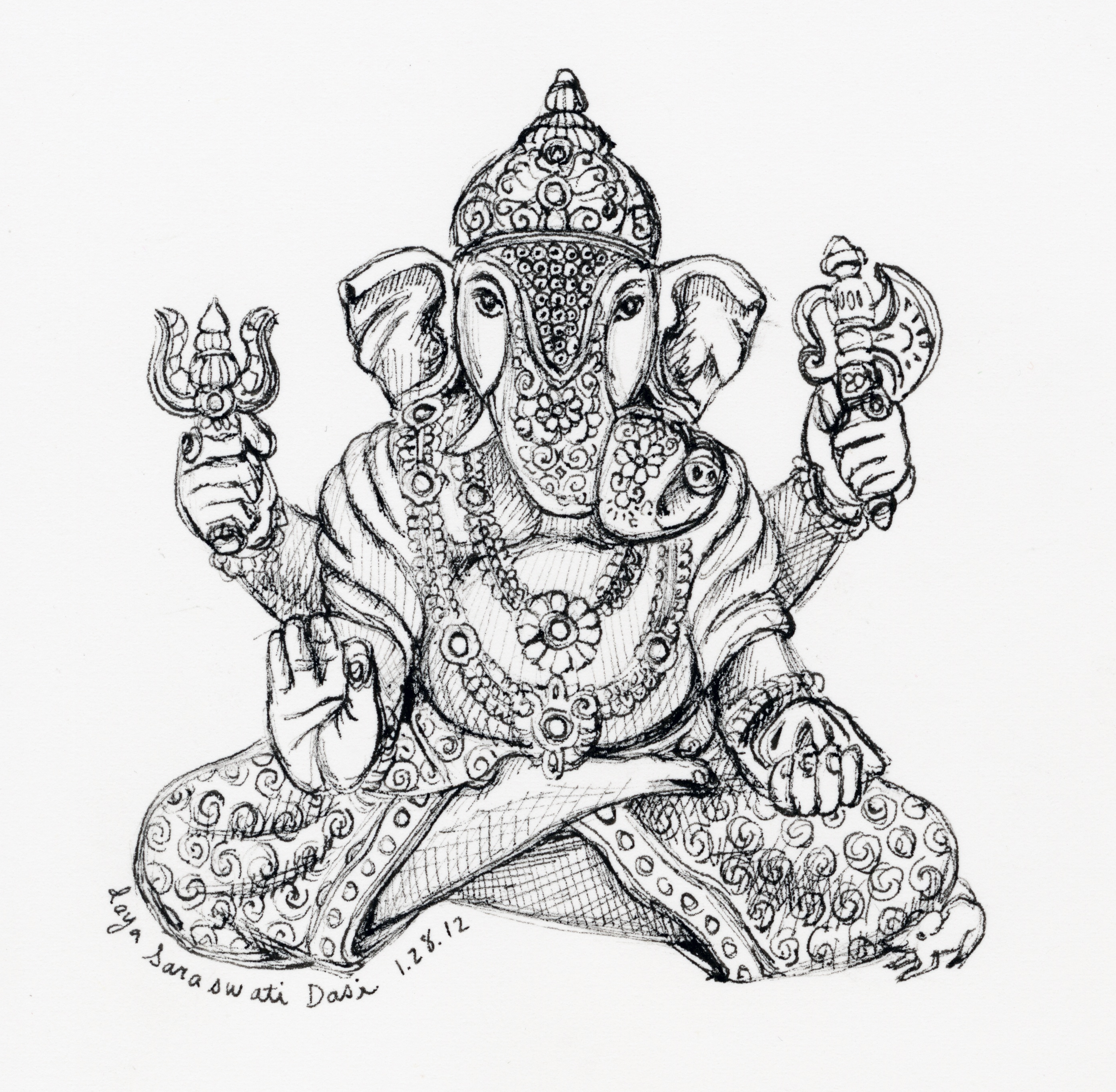Ganesha Drawings