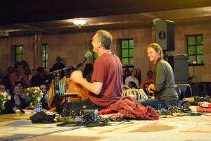 Krishna Das and Arjun Bruggement, Chantlanta, by TheBhaktiBeat.com