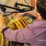 Jeffrey Lidke, tabla, at Chantlanta by TheBhaktiBeat.com