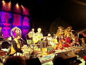 Jai Uttal & friends, by Bhakti Fest, on TheBhaktiBeat.com