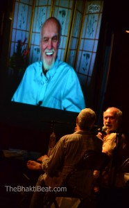 Ram Dass, Jai Uttal, Shyamdas at Omega Fall Chant 2012 by TheBhaktiBeat.com