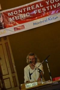Patrick Bernard @ Montreal Chant Fest by TheBhaktiBeat.com