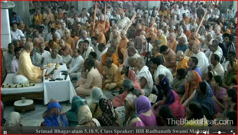 Radhanath Swami Bhagavatam class 2.25.16