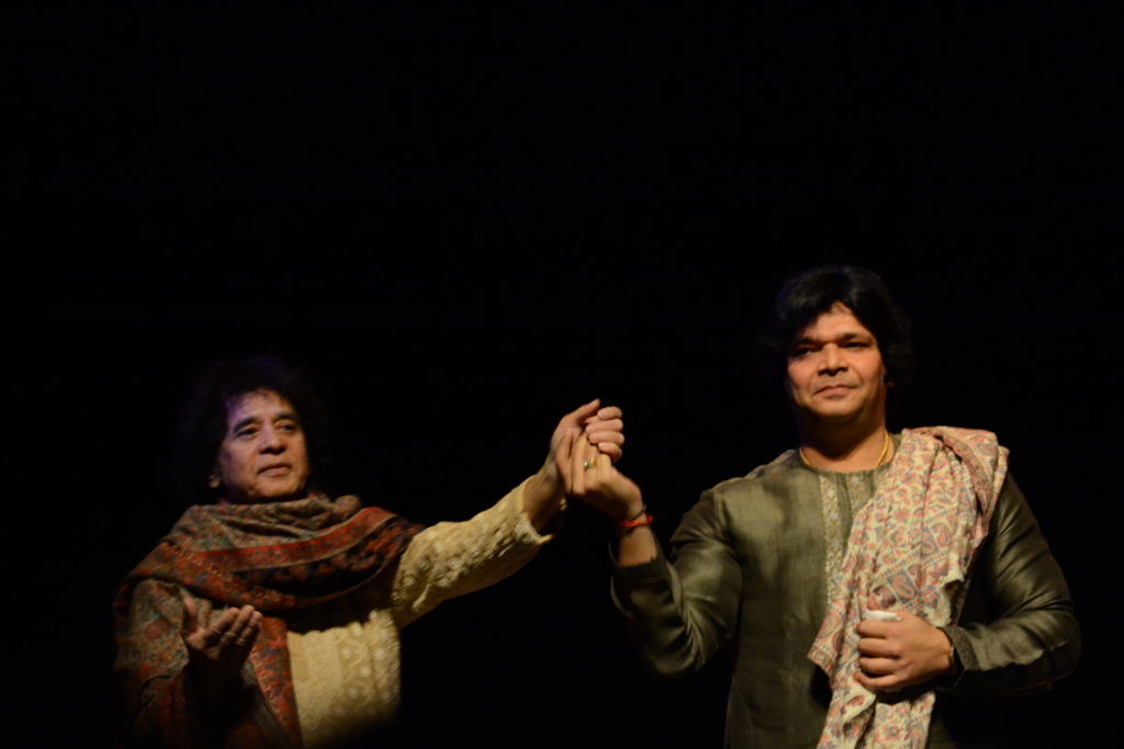 Zakir Hussain Rakesh Chaurasia by TheBhaktiBeat.com