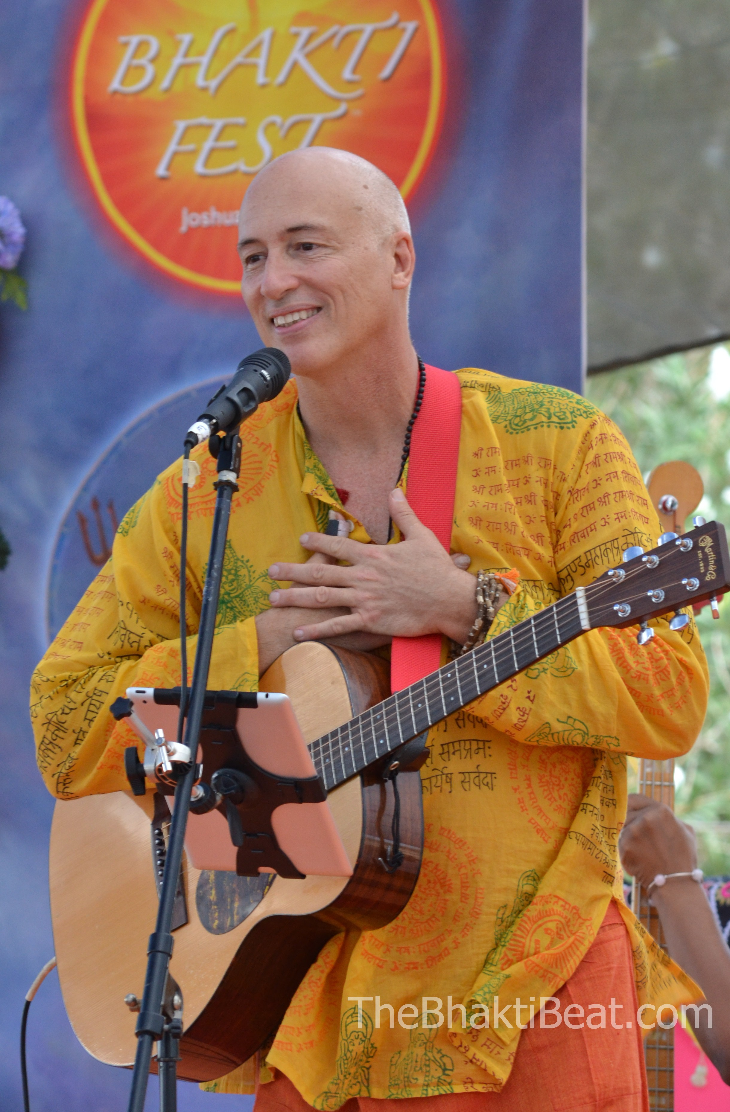 Jim Beckwith, Bhakti Fest, by TheBhaktiBeat.com